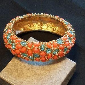 Kenneth Jay Lane cuff bracelet